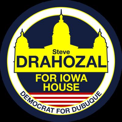 political lapel sticker design by the green cheetah photo&design
