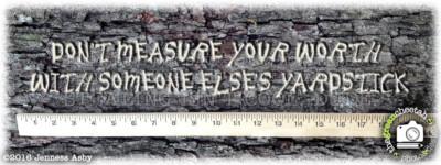 """measure your worth"" mug design by the green cheetah photo&design"